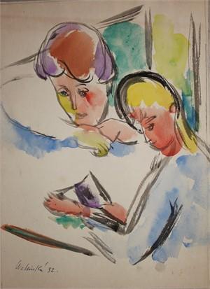 Women Reading, 1932