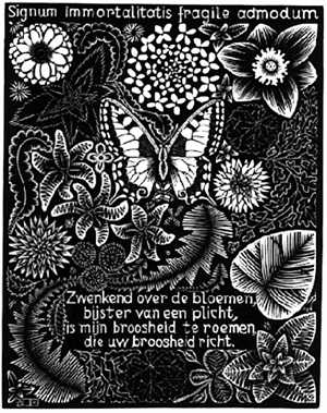 Emblemata - Butterfly, 1931