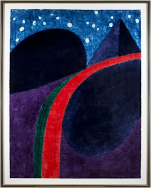 The Bighorn at Night (48/50), 1971
