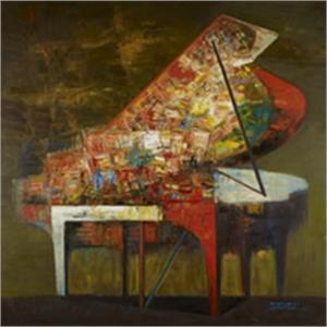 Piano Series/Brown Piano (1/1)