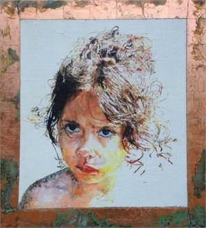 Portrait of Paloma (Sun Girl) by Mark Gaskin