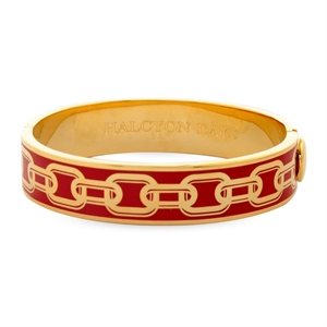 Bangles Chain Red Gold