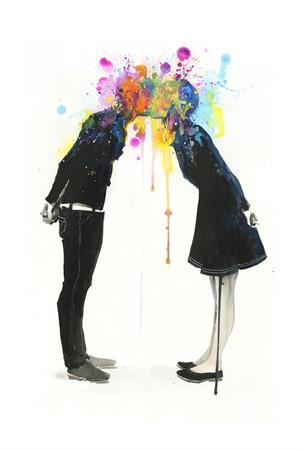 Big Bang Kiss (sold) (Edition 1), 2013