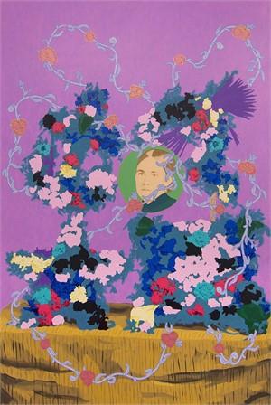 Untitled (Flowers for Ida Kaiser Savade)