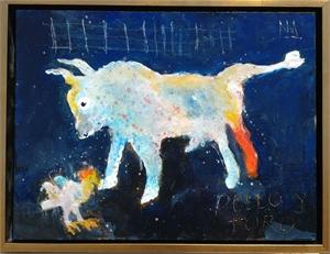 Pollo Y Toro Redux 12x16