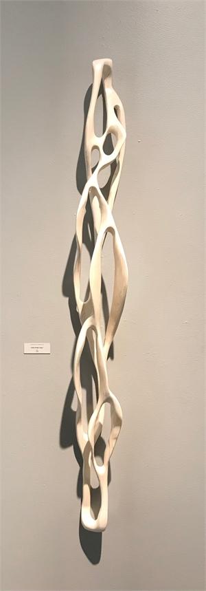 White Linear Loop I