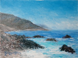 Looking Towards Big Sur by James Scoppettone