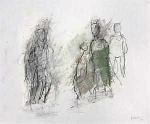 Four Figures by Thaddeus Radell