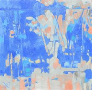 September Blue II by Natalie George