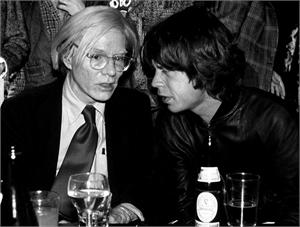 Mick Jagger & Andy Warhol (/1), 2019