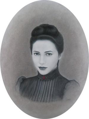 Self-Portrait - The Red Jewel, 2010