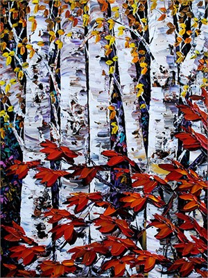Night Birch 181472, 2016