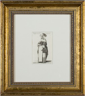 Woman in a European National Dress, 1643