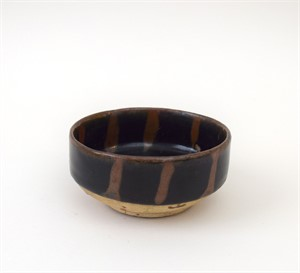 BLACK HENAN DEEP BOWL WITH VERTICAL BANDS, Chinese, Song Dynasty (960-1279)