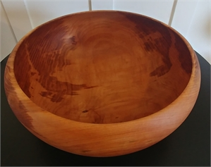 Big Leaf Maple Calabash Bowl, 2019