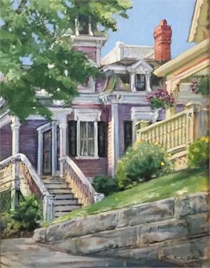 Hopper's Painted Gloucester House, 2019