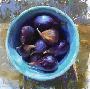 Figs in Blue, 2018