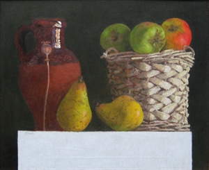 Basket of Fruit and Pitcher, 1999