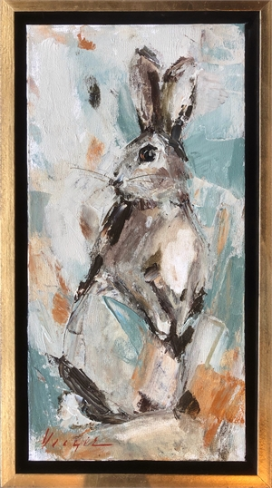 Abstract Bunny II by Mary Miller Veazie