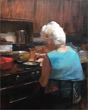 "SUSAN J PATTON, ""Still Stirring (at 93)"""