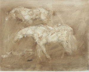 Ghost Horses (Horses in the Mist)