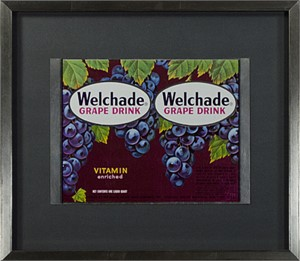 Welch's Grape Juice Can Before Fabricating, 1957