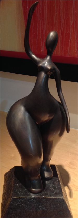 """""""Zaftig Dancer"""", 2016"""