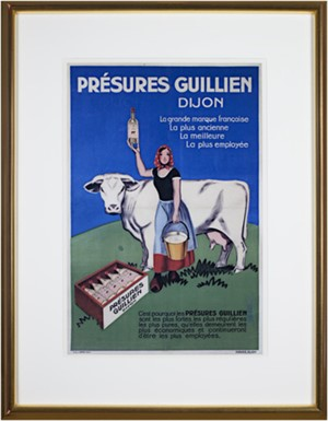 Presures Guillien, Dijon Cow, 2001
