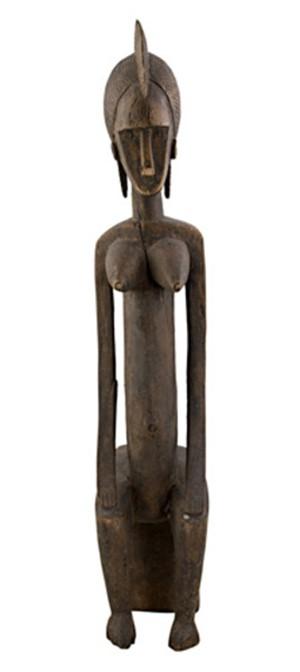 Bambara Ancestral Figure-Mali (Female), c.1910