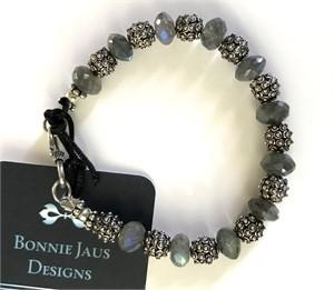 Bracelet - Labradorite & Sterling Silver  #8013, 2019