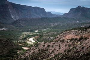 Rio Grande, Big Bend State Park by Kevin Greenblat
