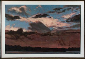 Clouds Over Hatch Lake, 1988