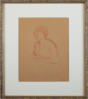 Buste de Jeune Femme, c1900