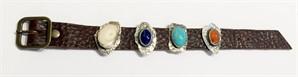 DK2559-Bracelet, Lapis, Turquoise, Carnelian, 2018