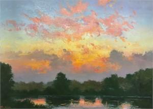 July Dawn, Fremont Lakes