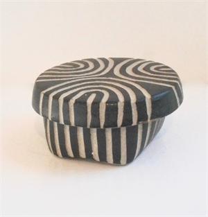 Small Round Box 5 by Larry Halvorsen