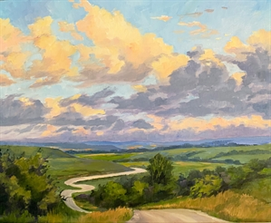 A Vista of Hills by Cathie Thompson