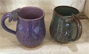 Marian Pyron Dragonfly mugs, 2019