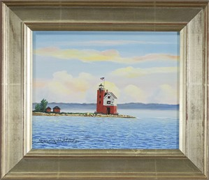 Mackinac Island Lighthouse Michigan, 2016