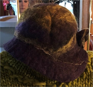 Green Acres Hat with Button