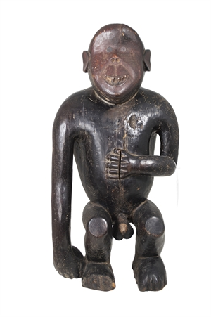 Fang Tribe Gabon M'boula Statue, 19th C.