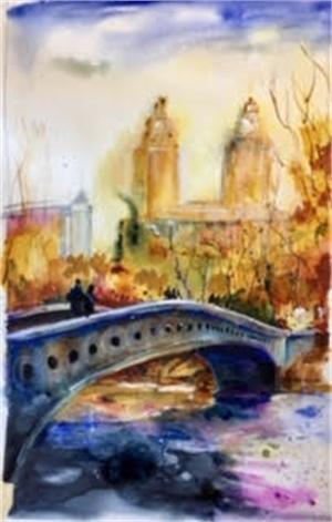 Central Park in Fall by Dirk Walker