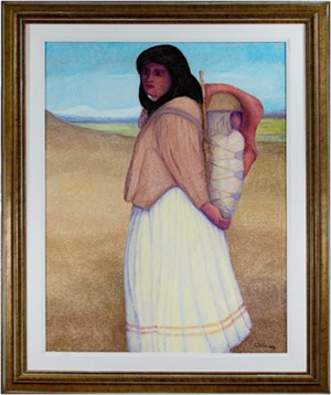 Apache, Mother & Child, 2000
