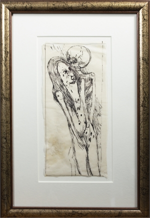 Untitled Woman and Death, 1968