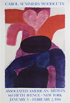 Carol Summers Woodcuts - Vesuvio, 1980