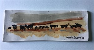 Cattle on the Ridge