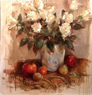 Winter Roses & Fruit