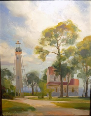 Lighthouse, Midday, 2018