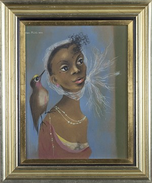 Young Girl (Girl with Bird), 1954