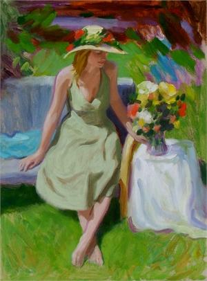 "JOHN BOOTH, OPA, ""Summer's Rose"""